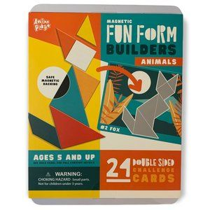 NEW IN BOX Magnetic Fun Form Builders - Animals - TYN7
